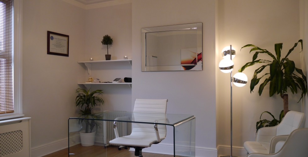 West Wickham Osteopaths consultation room
